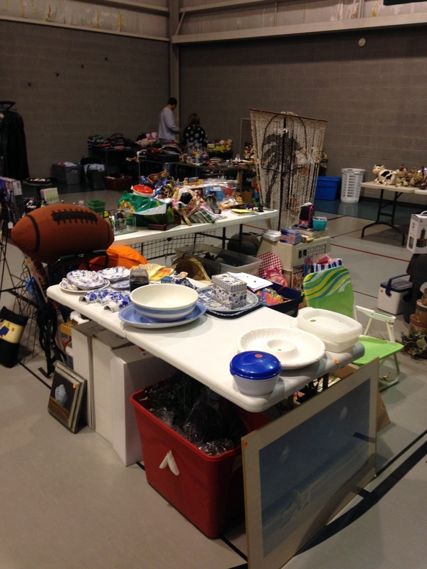 Indoor Yard Sale - Willard Parks and Recreation